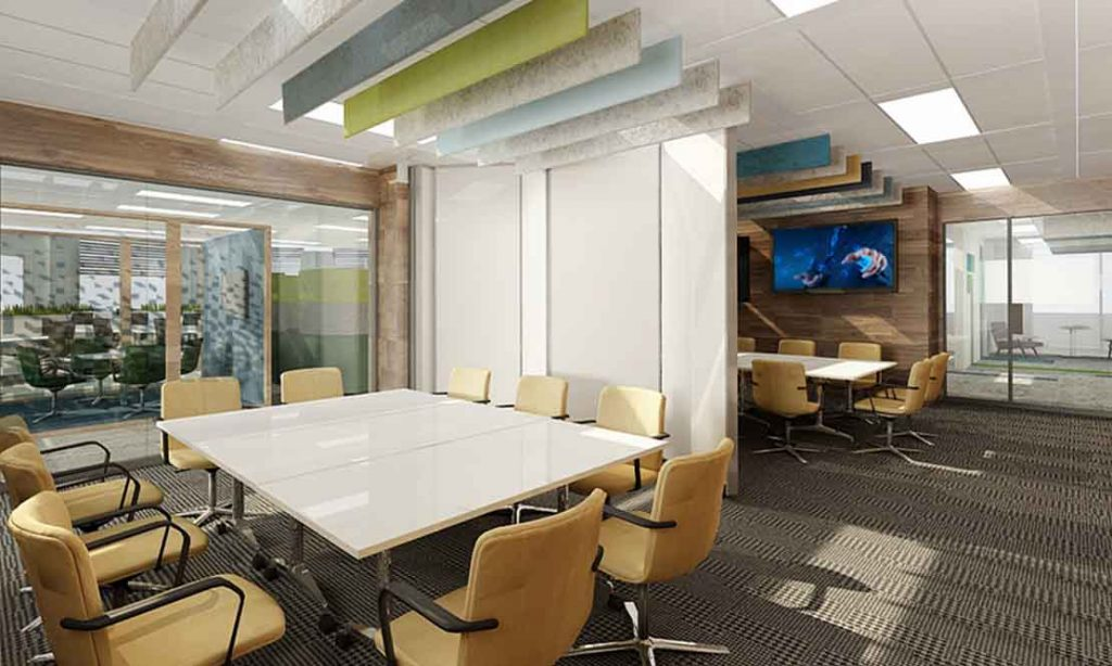Office meeting rooms