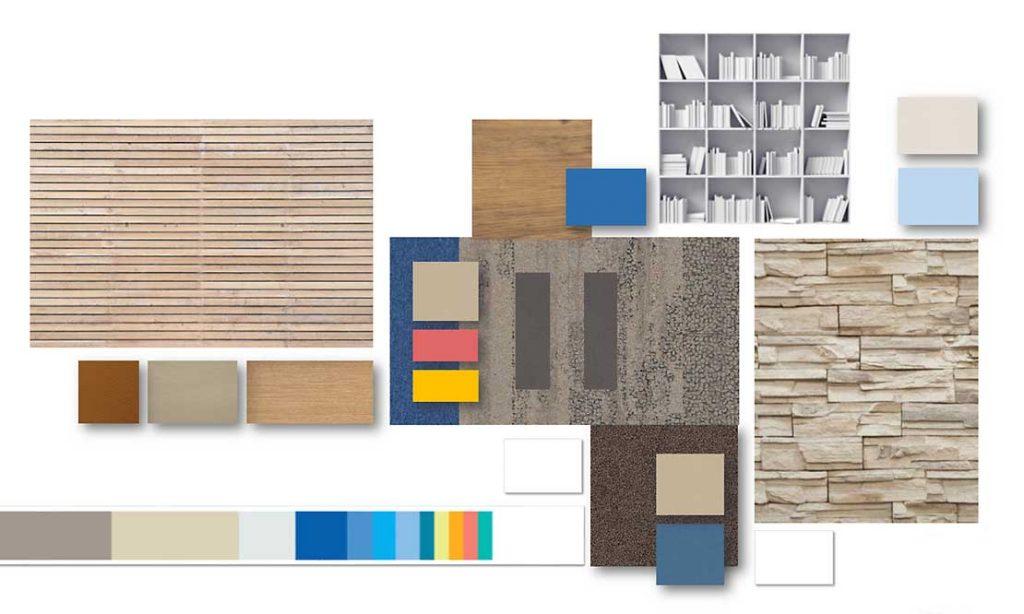 Colour pallette for new office design