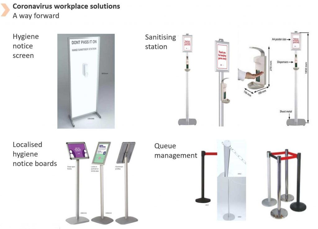 COVID-19 SAFE WORKSPACE SOLUTIONS